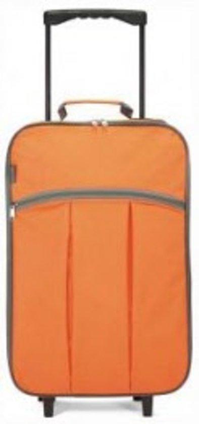 Benzi Handbagagekoffer - 55 cm - Oranje