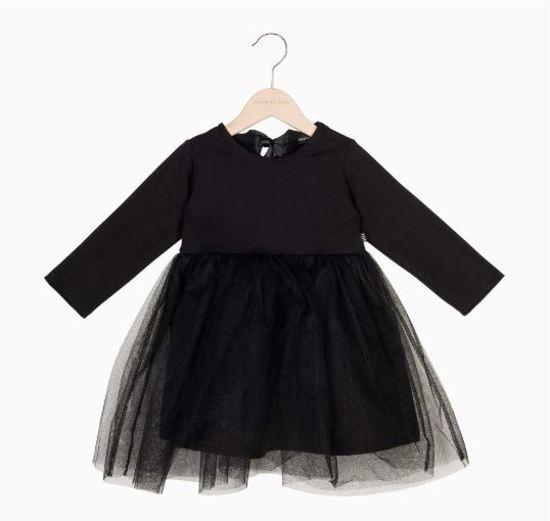bfc90c70591f98 House of Jamie - kerstjurkje - tule - party dress baby - maat 62 68
