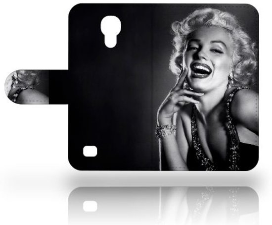 Samsung Galaxy S4 Mini Uniek Ontworpen Cover Marilyn Monroe in Vollezele