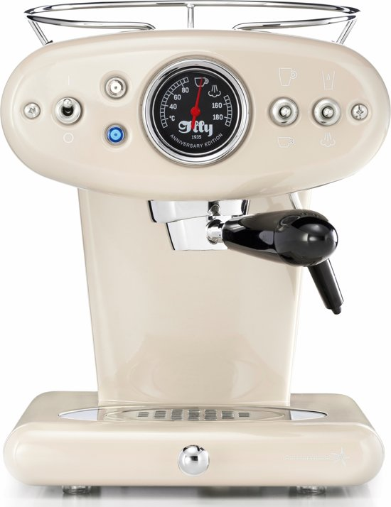 illy Francis Francis X1 Anniversary - Iperespresso Machine - Almond