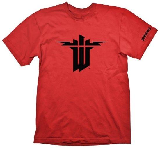 Bol Wolfenstein 2 T Shirt Symbol Maat S