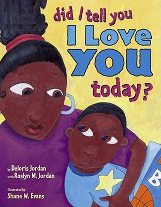 Bol Com Did I Tell You I Love You Today Deloris Jordan