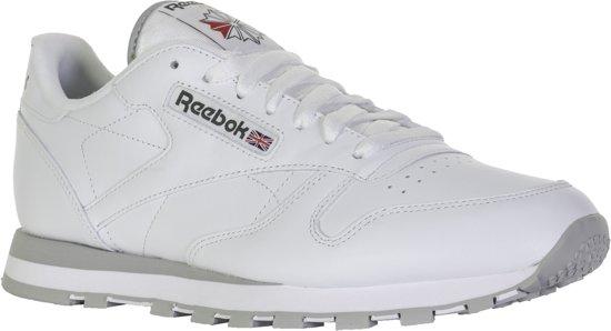 Reebok CL LTHR 2214 Sneakers Wit;Grijs maat 46