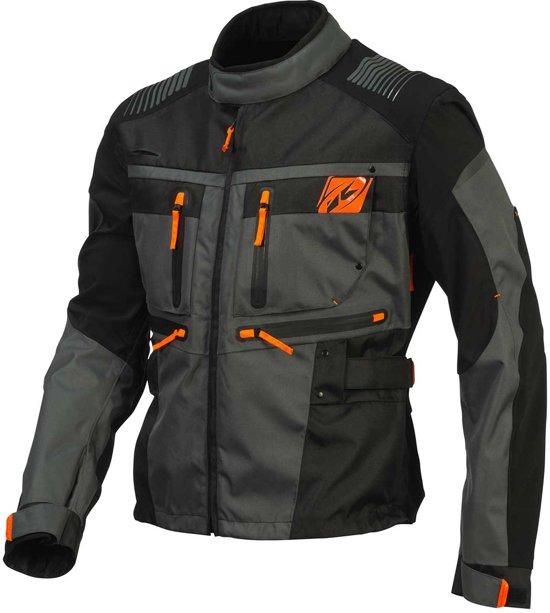 Enduro Kenny l Black grey Jacket 0Zzwrqnxzd