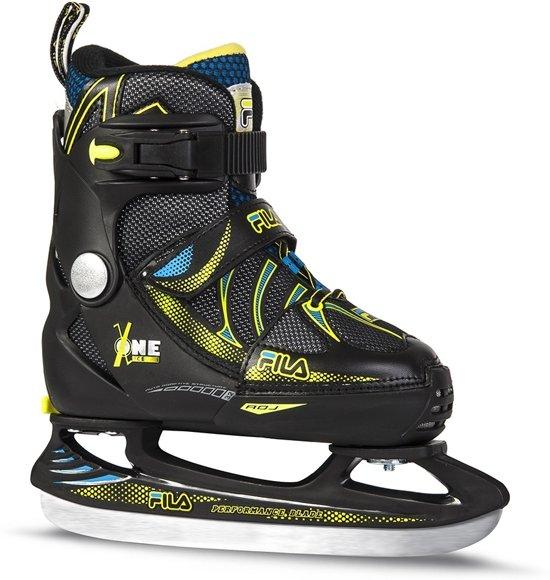 Fila Ijshockeyschaatsen X One Ice Boy Jongens Zwart Maat 29-32