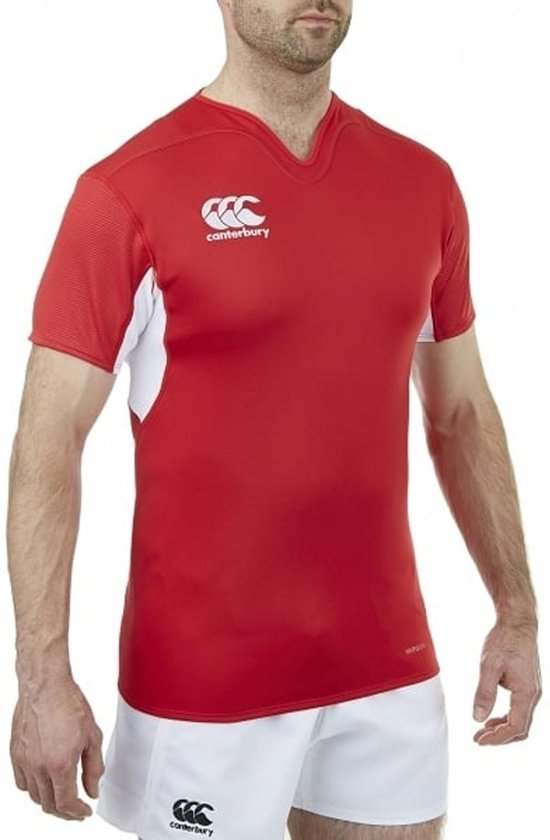 Mannen Canterbury shirtMaat L RoodWit T uwPTlkZOXi