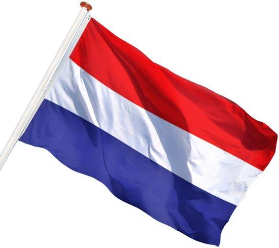 Uitzonderlijk bol.com | Klassieke Nederlandse vlag 80 x 120 cm WF96
