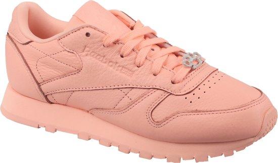 Reebok Classic Leather BS7912, Vrouwen, Roze, Sneakers maat: 37 EU