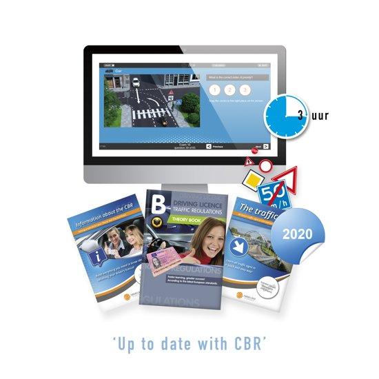 Auto Theorieboek Engels 2019 - Driving Licence or License B Theory Book - Met 3 Uur Online Examentraining + CBR Informatie en Verkeersborden