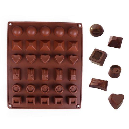 Kitchen Princess - Siliconen Chocoladevorm Groot - Bonbonvorm Valentinaa