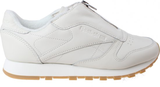 880f5fc8fdc Reebok Sneakers Classic Leather Zip Chalk Dames Crème Maat 40
