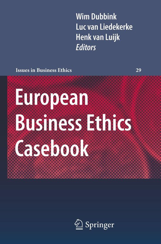 European Business Ethics Casebook