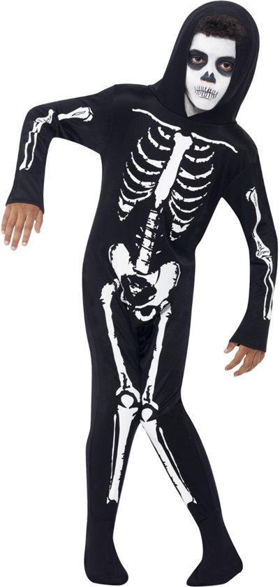 Skelet Voor Halloween.Skelet Kostuum Voor Kinderen Maat 128 Skeletten Pak Halloween