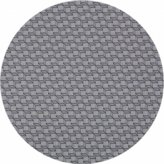 bol   mixmamas rond tafelkleed gecoat - Ø 140 cm - antraciet grijs
