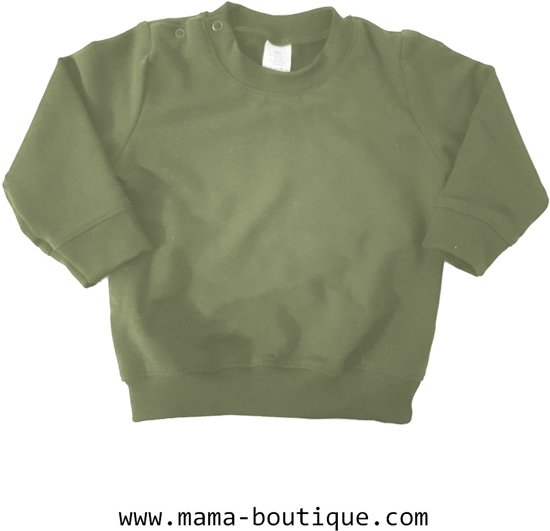 Mama Boutique - Sweater Blanco - Legergroen - Maat 104/110