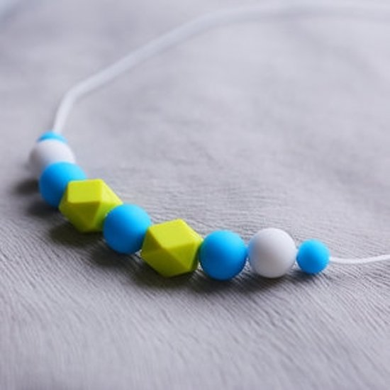 """Siliconen Bijtketting """"Lily of the valley"""""""