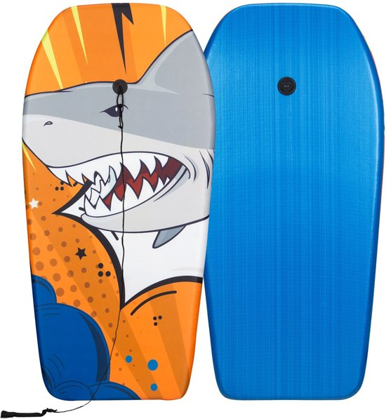 Waimea Bodyboard - Print II - Grijs/Oranje/Wit
