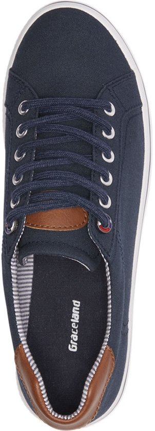 Maat 38 Dames Donkerblauwe Sneaker Graceland twASqOxx