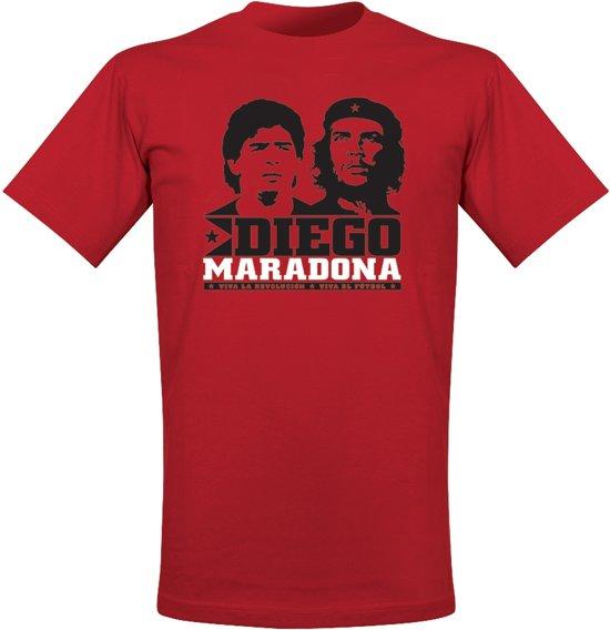 Viva El Futbol Maradona T-Shirt - XXL