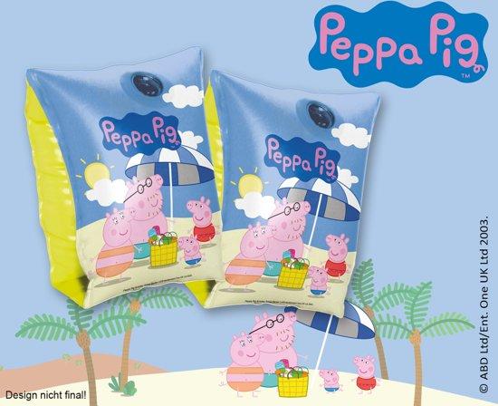 Happy People Zwemvleugeltjes Peppa Pig 23 X 15 Cm Blauw