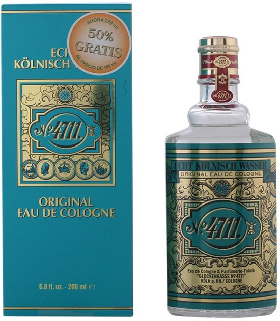 MULTI BUNDEL 2 stuks - 4711 - eau de cologne - 200 ml