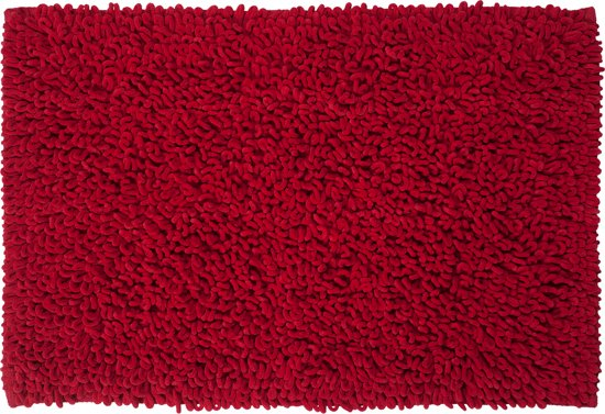 Sealskin Twist - Badmat - 60x90 cm - Rood