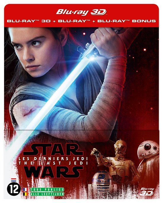 Star Wars Episode 8: The Last Jedi (3D+2D Blu-ray) (Steelbook)