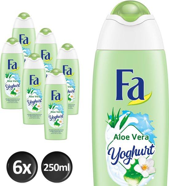 Fa Douchegel Yoghurt of Care Aloe Vera - Voordeelverpakking - Douchegel