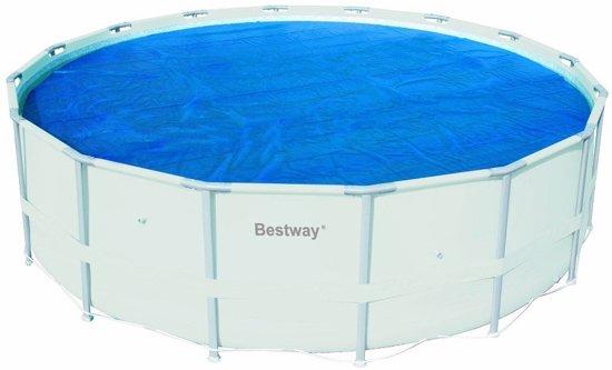 Bestway Solar Frame Pool Cover 549cm - isolerende zomerafdekking afdekzeil isolatie afdekking zwembad noppenfolie