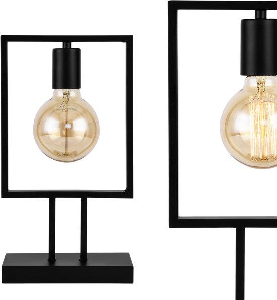 [lux.pro]® Tafellamp Innsbruck - zwart
