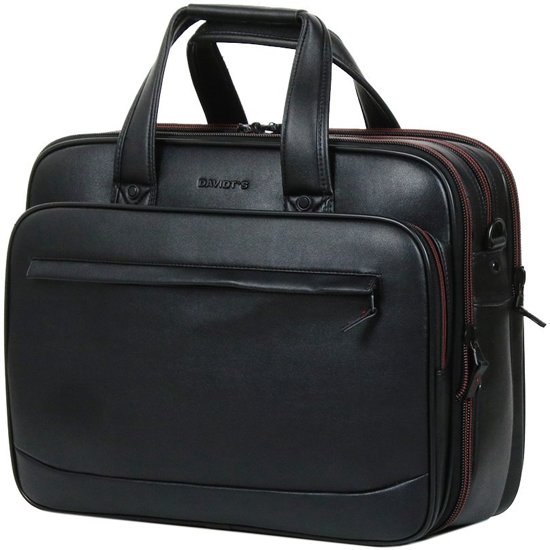 "Davidt's Oran Synthetic Multifunction Bag Exp 17"" black"