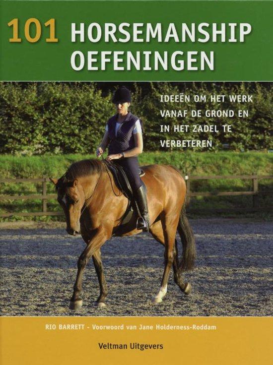 Boek cover 101 horsemanship oefeningen van Rio Barret (Hardcover)