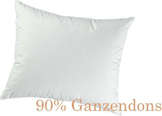 Hoofdkussen 90% Dons Gold - Ganzendons 60x70