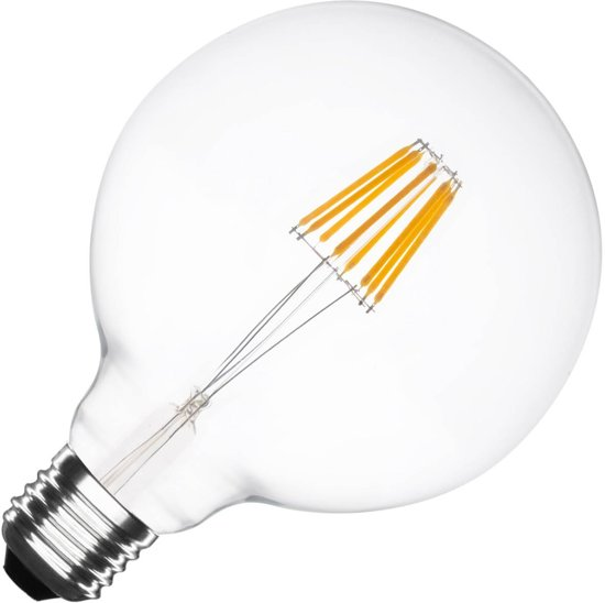 E27 6W Ginitho Gold Supreme Led Lamp 2000-2500k Dimbaar G125