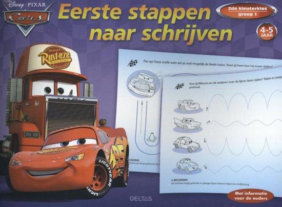 Disney Pixar Cars - Eerste stappen naar schrijven 4-5 jaar, 2de kleuterklas, groep 1