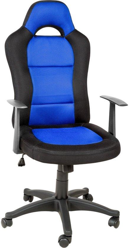 Luxe directie bureaustoel racing style sport for Bureau stoel