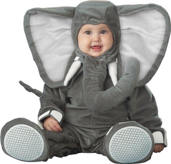 Grijze olifant pak voor baby's - Premium - Kinderkostuums - 62/68