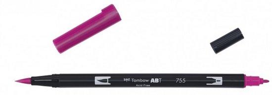 Tombow ABT dual brush pen rubine red ABT-755