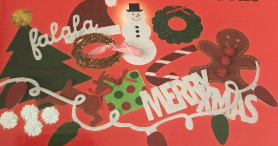 Kersttrui 20 Euro.Bol Com Grafix Maak Je Eigen Kersttrui Versiersetje Sneeuwpop
