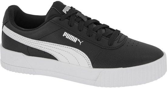 PUMA Carina L Dames Sneakers Puma Black Puma White Puma White Maat 37