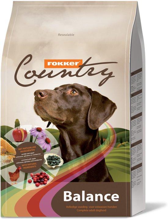Fokker country balance hondenvoer 15 kg