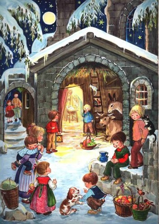 Adventskalender 24 Adventkalender 24 vakjes