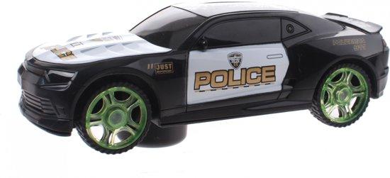 Toi-toys Street Racer Sr7 Police Licht En Geluid 22 Cm Zwart