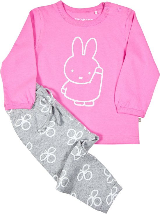 a0249fd4bc Nijntje meisjes pyjama - roze - maat 62 68