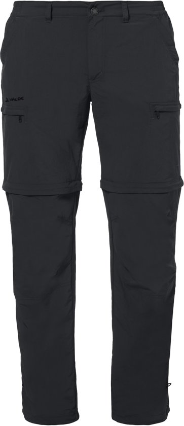 Vaude Men's Farley ZO Pants IV - Outdoorbroek - mannen - 48 - black