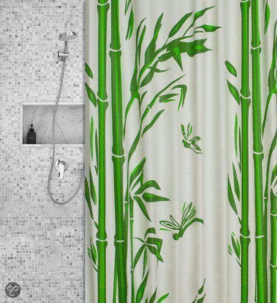 Roomture - douchegordijn - bamboo - 120 x 200 cm