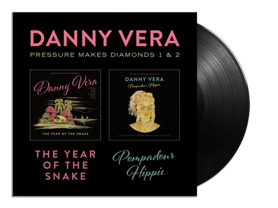 CD cover van Pressure Makes Diamonds 1 & 2 (LP + CD) van Danny Vera
