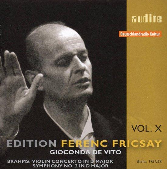 Edition Ferenc Fricsay (X) - J. Bra