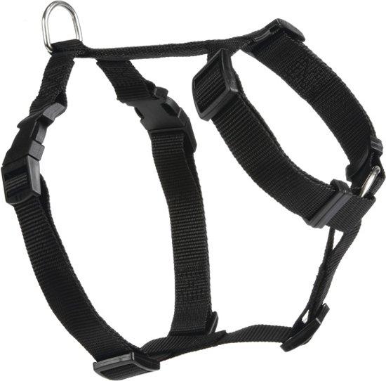 Beeztees Wandel- en Autogordel - Hond - Zwart - S - 40-65 cm