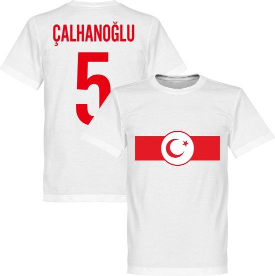 Turkije Banner Calhanoglu T-Shirt - XS